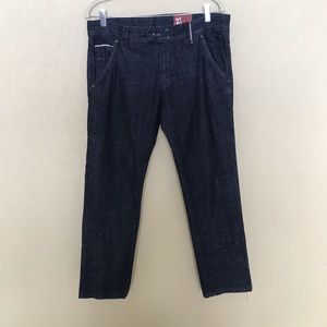 Zara Denim Jeans Selvedge Trim Altered Length W 32